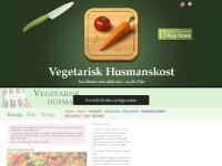 Vegetarisk husmanskost - Kokboken med enkla recept för vegetarisk och vegansk mat.
