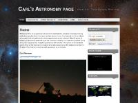 Carl's Astronomy & Telescope Making page