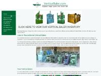 verticalbaler.com Vertical Baler, Vertical Bailer, Cardboard Baler