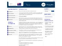 vfs-au.co.za SELECT LANGUAGE, Postal Application, Collection of Passport