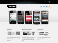 vidamo.se mobile marketing, mobile coupons, iphone