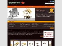 vijayanlocks.com door locks, furniture locks, household and industrial locks manufacturer