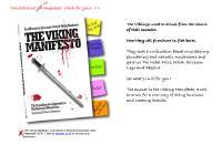 liten vikingmanifesto.com skärmbild
