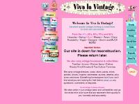 Viva la Vintage - Vintage clothing, accessories, and collectibles from the 40s, 50s, 60s, 70s and 80s