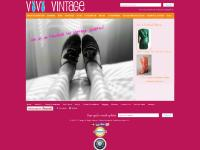 vivivintage.com Vintage clothing, womens vintage clothing, Vintage Dress