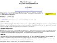 The Vmatch large scale sequence analysis software