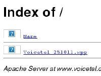 voicetel.co.uk Name, Last modified, Size