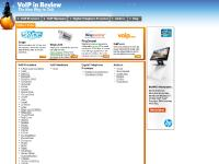 VOIP Service Reviews - Voice Over IP Internet Telephone Service Reviews