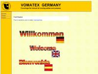 VOMATEX - paddings and textiles for industrial ironing tables and clothing presses