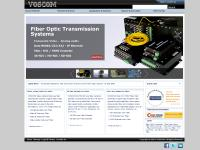 voscom.com fiber optic video, fiber optic transmitter, fiber optic con