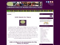 Canadian Voice of Women for Peace