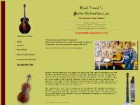 mandolin, stinged instrument repair, fretted instrument repair