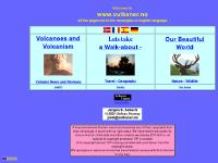 Volcanoes: Information on volcanism, also nature, travel and geography