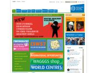 Events, Take Action, Shop, Stop the Violence campaign