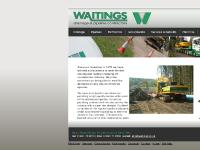 Waitings - Drainage and Pipeline Contractor, UK