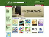 Wallies Wall Decals, Holiday Wallies, Wallpaper Cutouts, Wallpaper Borders