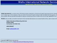 wallis.com   Web Services &n