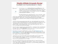 Wealthy Affiliate University Review - An Insightful Review of Kyle & Carson Wealthy Affiliate Program