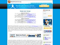 Watch Live Tennis Online, Tennis Live Streaming Feeds On The Internet.