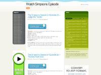 Watch Simpsons Episode