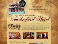 weatherfordhotel.com