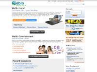 Weblo Virtual Domains, Property, Celebrity and Auction