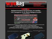 Maßgeschneiderte Handytaschen - 100% Passgenaue Handytaschen von weeBag.de