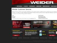 weiderservice.com Kettle Bells, Free Weights, Weight Benches