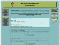wenstrombibleministries.org Classes, Links, Doctrinal Topics