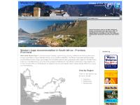 Western Cape Accommodation in South Africa - Province, Provincial