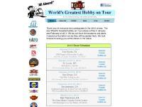 wghshow.com world's greatest hobby on tour, wgh show, bachmann