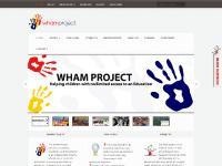 whamproject.org.uk WHAM, Kurdish Charity, Children
