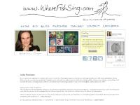 wherefishsing.com original art paintings, meatless meals, vegetarian cookbook