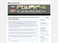 White Chalk Crime | End Teacher Abuse