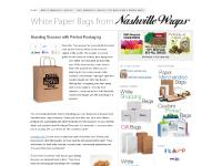 White Paper Bags – Branding Your Business
