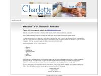 Dr Thomas P Whitfield - Podiatry, Foot Care - Charlotte, NC - Your Premier Foot Care Specialist In Charlotte