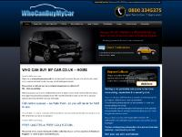 Why Sell to Us, How It Works, Car Makes, Areas