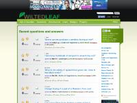 Wilted Leaf (Q&A) your Gardening Question and Answer resource for all your garden needs