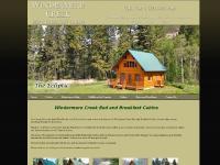 Kootenays British Columbia luxury cabins Windermere Creek bed breakfast