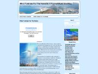 windturbinesforthehome.com wind turbines, home, residential