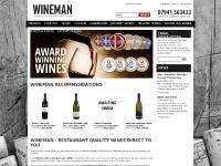 wineman.co.uk Milton Keynes, wine, merchant