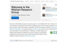 wishartlab.com pharmacy, University of Alberta, Pharmaceutical Sciences