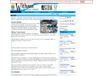 witham.gov.uk Witham Home page On The Website... Did You Know? Local and National Government Links serve local government services river walk nature national information witham home detail town sign around taking stroll discover wealth century buildings particular