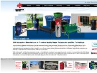 Witt Industries - Trash Receptacles, Garbage Cans, Recycling Containers, Benches