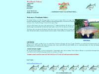 Woodlands Fishery near Spilsby in Lincolnshire UK