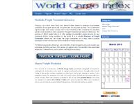 World Cargo Index Directory of freight forwarders