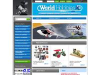 World Hobbies - Hobby - rc - os engines - gt55 - wilesco - castle creation - multiplex
