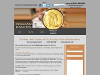 Antique Coin Dealers - Albany, NY - Williams S. Panitch, Inc.