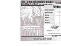 FIRST CONGREGATIONAL CHURCH - WEST TISBURY, MA