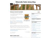 Wilsonville Public Library Blog